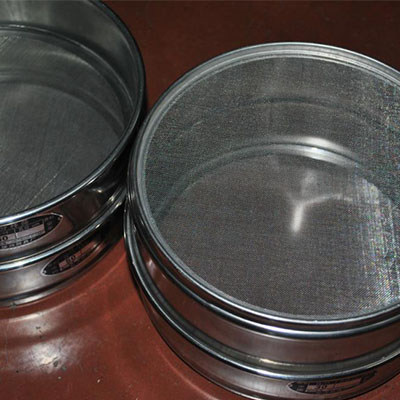 Durable stainless steel test sieves