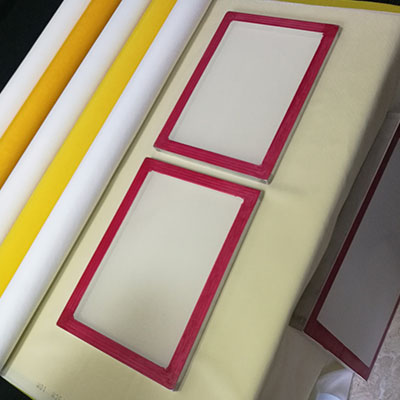 plain weave polyester silk screen printing mesh fabric