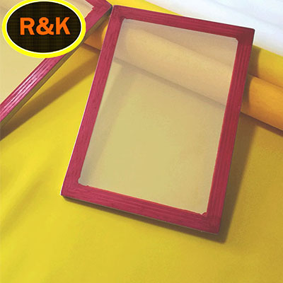 64T 64W polyester screen printing mesh for textile