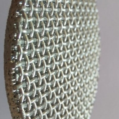 Stainless steel sintered wire mesh filter